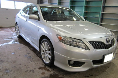 Toyota Camry After Repair Back Right View
