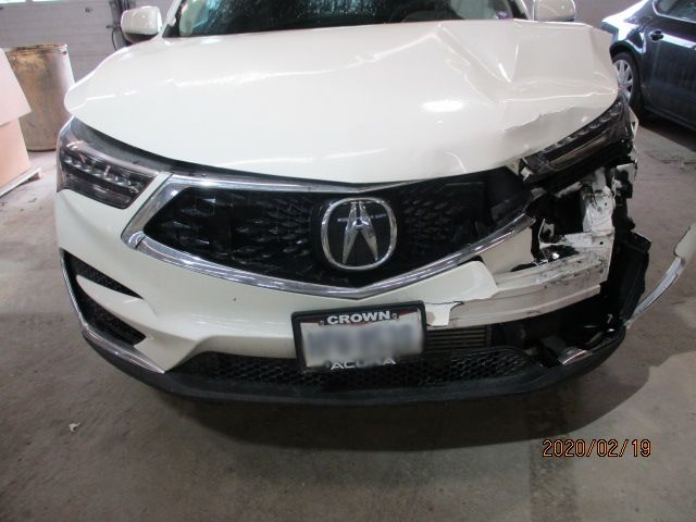 Acura RDX Before Repair Front View