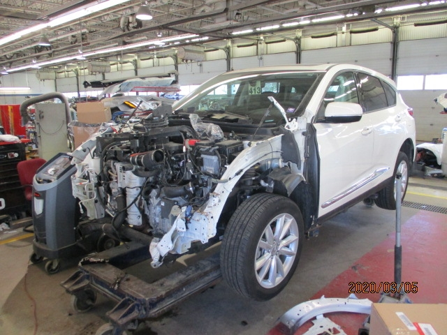Acura RDX Mid-Repair Front View