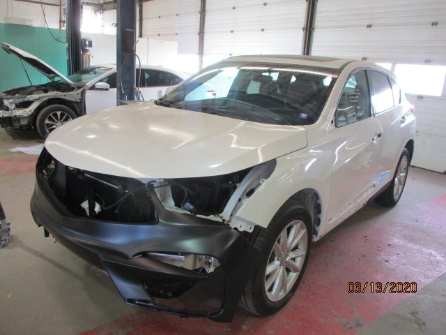 Acura RDX Mid-Repair Front Left View