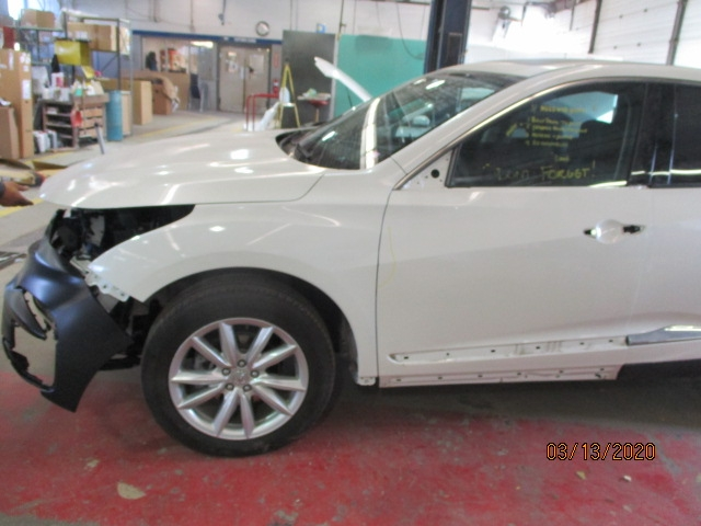 Acura RDX Mid-Repair Front Side View