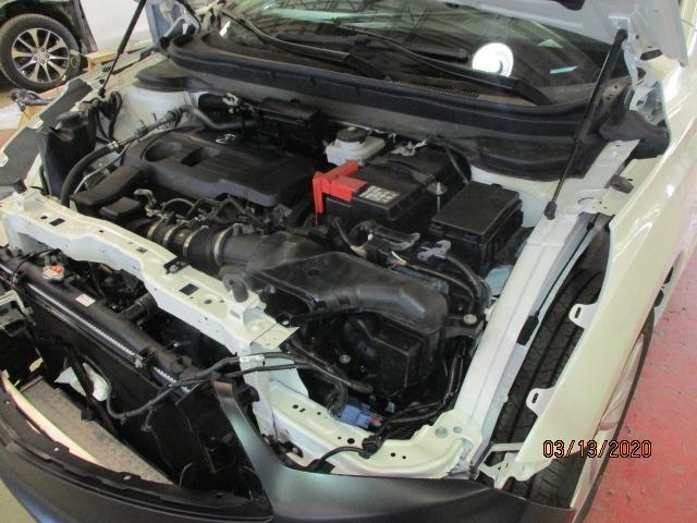 Acura RDX Mid-Repair Open Hood View