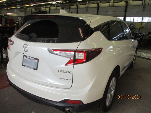 Acura RDX Mid-Repair Back Right View