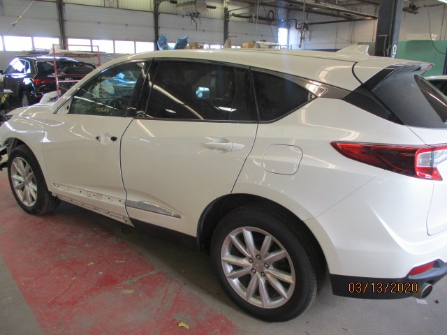 Acura RDX Mid-Repair Back Left Back/Side View