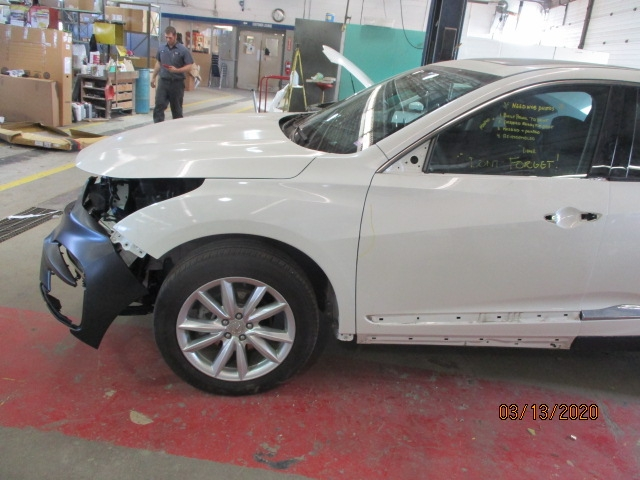 Acura RDX Mid-Repair Front Left Side View