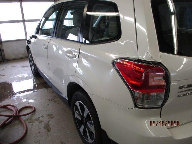 Subaru Forester Before Repair Side Back View