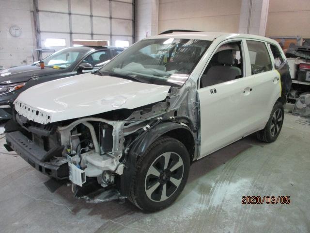 Subaru Forester Mid-Repair Front View