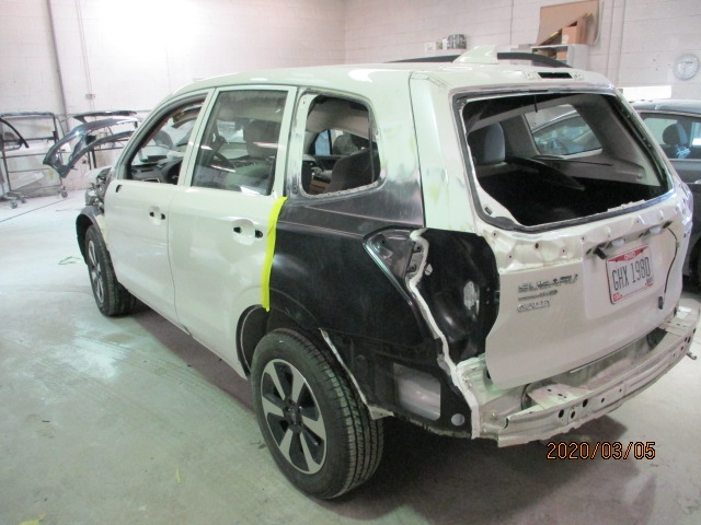 Subaru Forester Mid Repair Back View