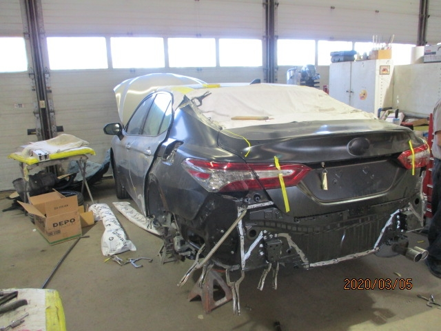 Toyota Camry- Back End Repair