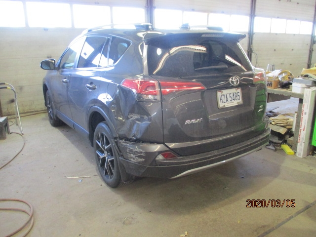 Toyota RAV4 Before Repair Back Left View