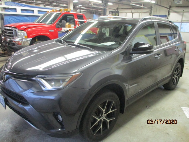 Toyota RAV4 After Repair Front Left View