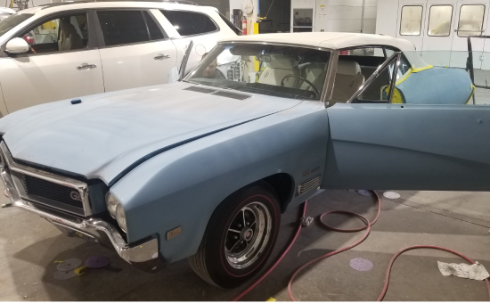 Buick Skylark Before Restoration Front Left View