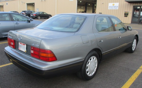 Lexus LS-400 After Restoration Back Right View