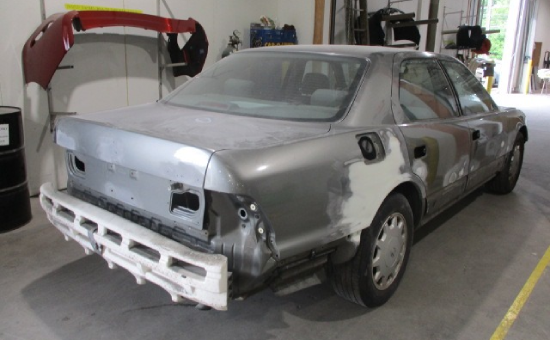 Lexus LS-400 Mid Restoration Back Right View