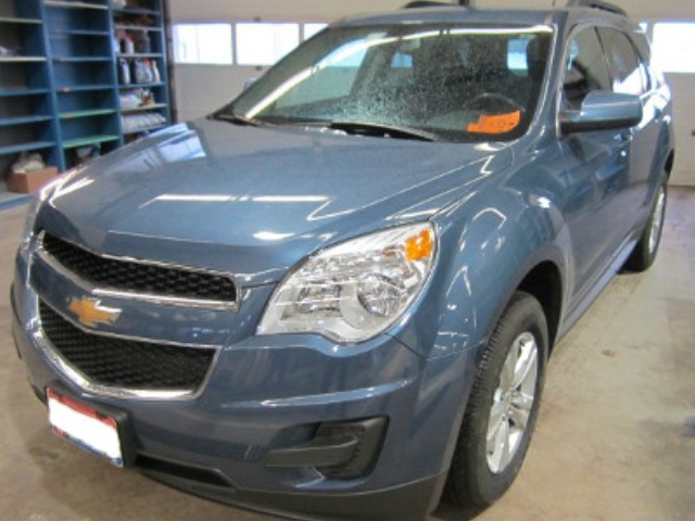 Chevy Equinox After Repair Front Left View
