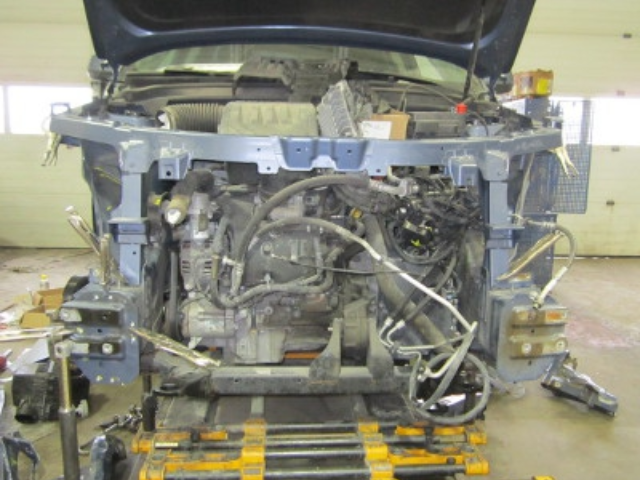 Chevy Equinox Mid-Repair Front View