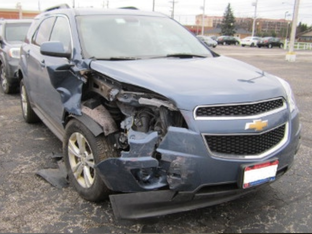 Chevy Equinox- Front End Repair