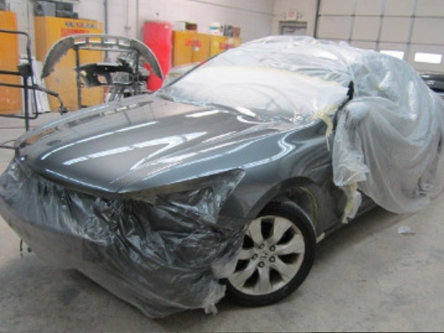 Honda Accord After Repaint Front Left View