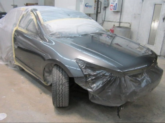 Honda Accord After Repaint Front Right View