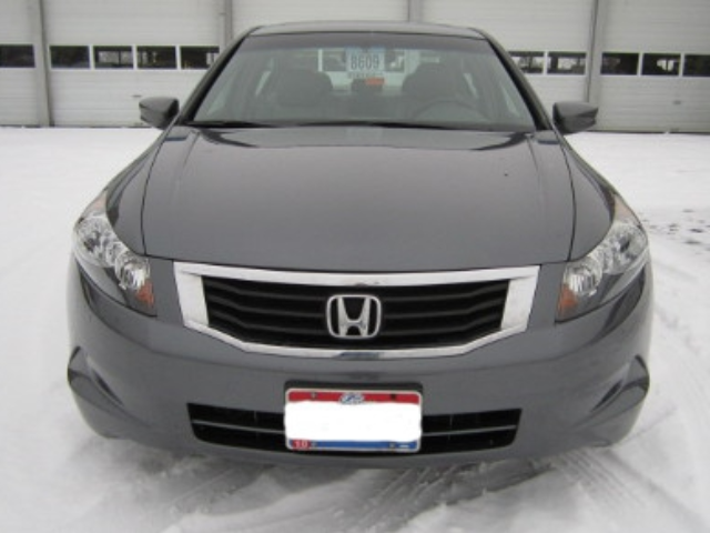 Honda Accord After Repair Front View