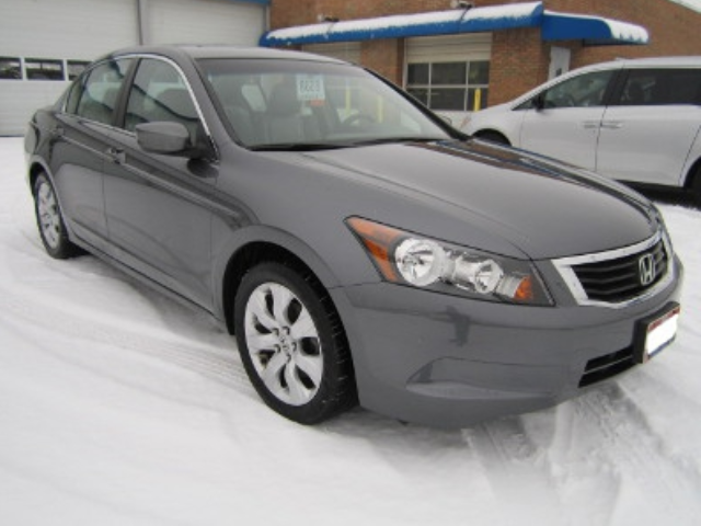 Honda Accord After Repair Front Right View