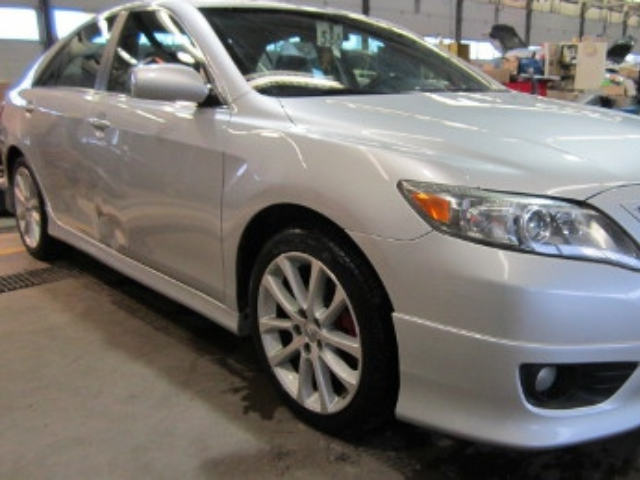 Toyota Camry Before Repair Front Right View