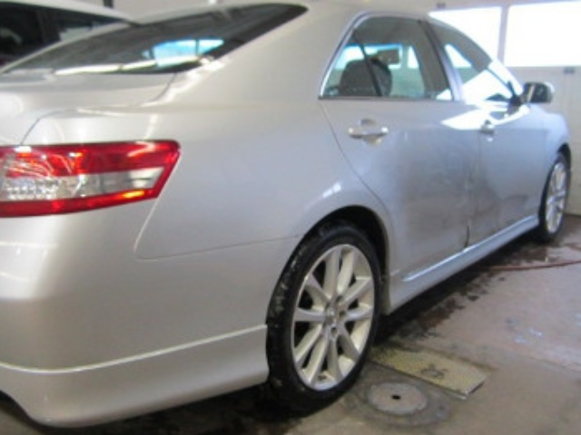 Toyota Camry Before Repair Back Right View