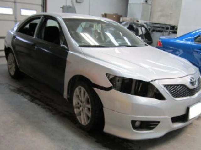 Toyota Camry Mid-Repair Front Right View