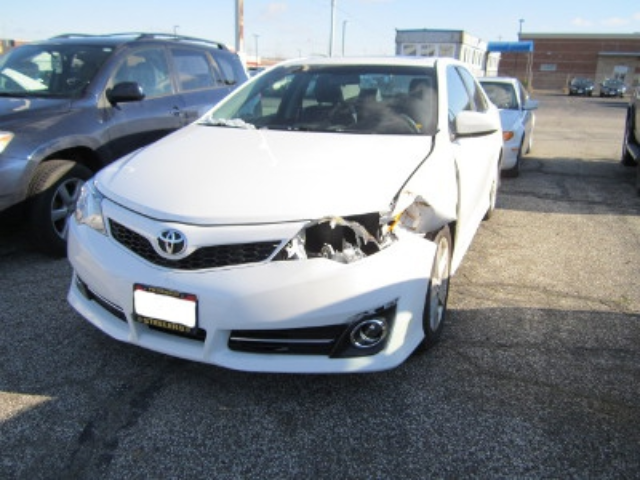 Acura RDX Before Repair Front Left View