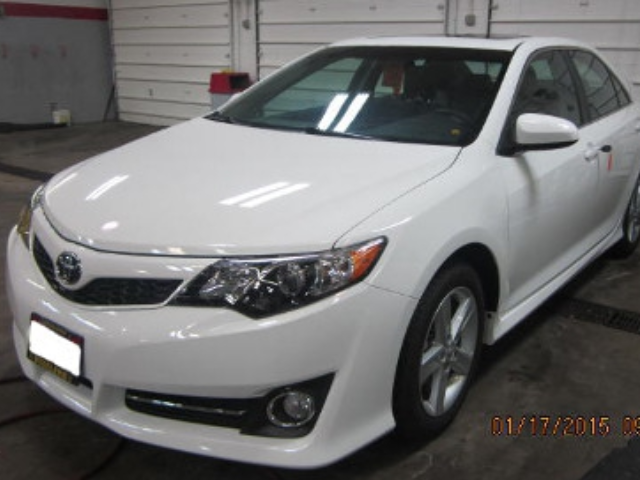 Toyota Camry Afrer Repair Front Left View