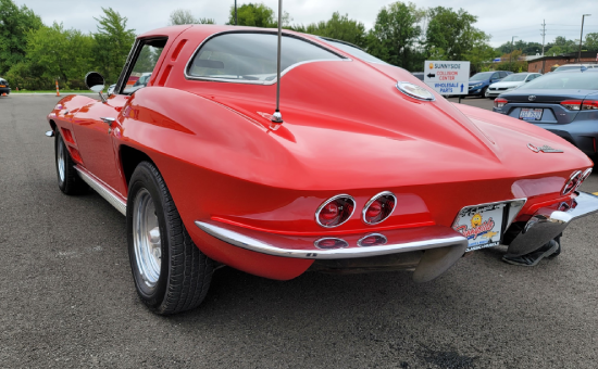 Chevrolet Corvette After Restoration Rear View